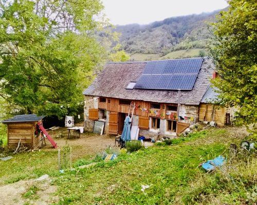 image maison autonome en Arriège