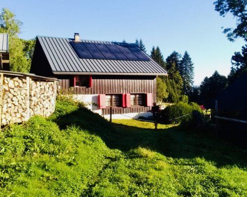 Image site isolé en Suisse