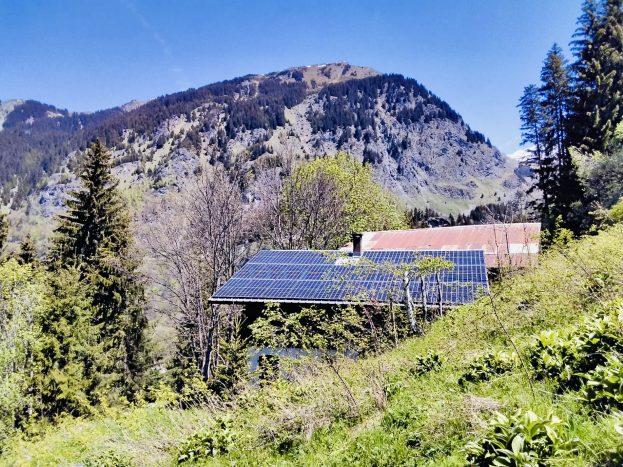 Site isolé en Vanoise